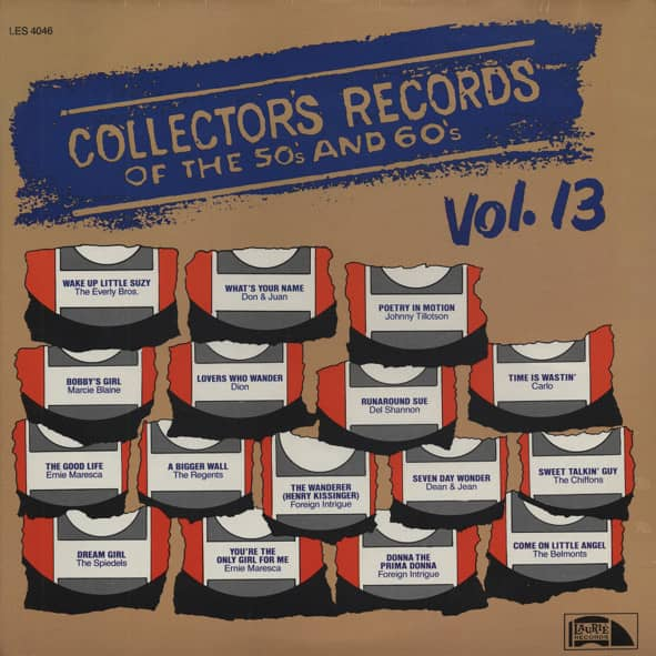Collector's Records Of The 50s & 60s Vol.13