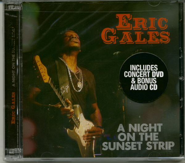 A Night On The Sunset Strip (CD,DVD)