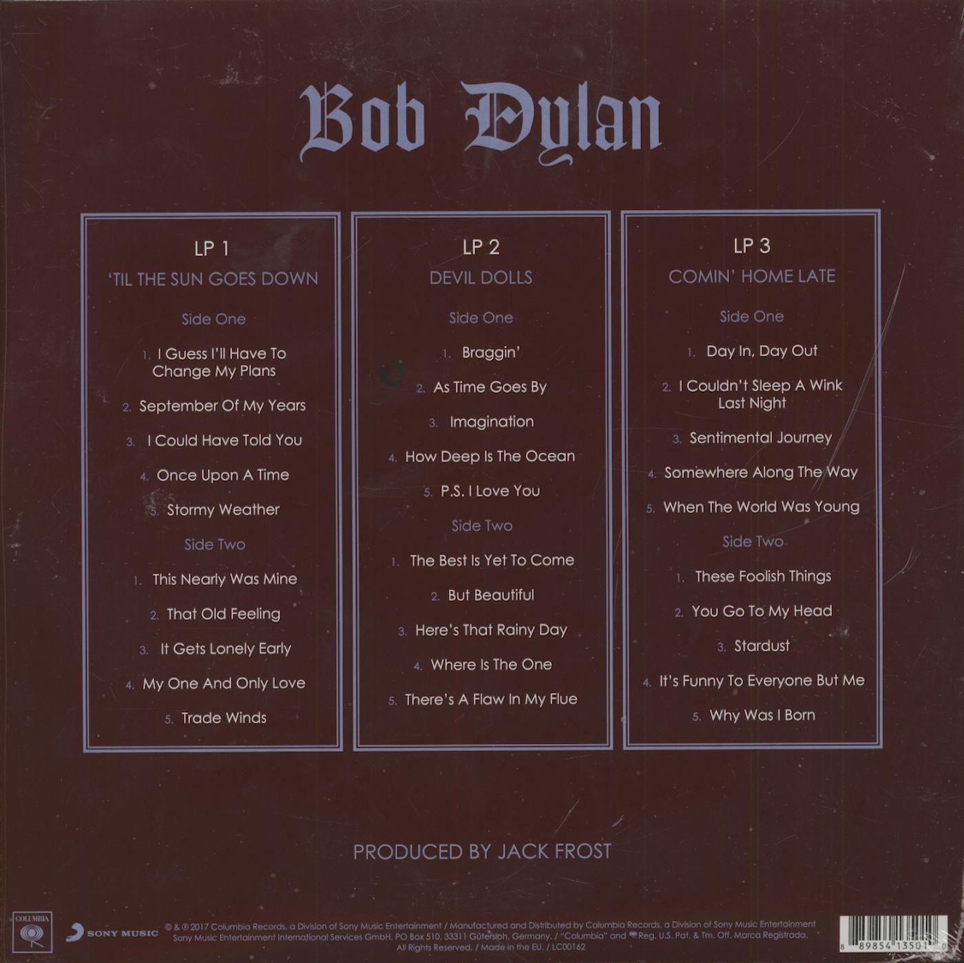 Bob Dylan Triplicate (3-LP, 180g Vinyl)