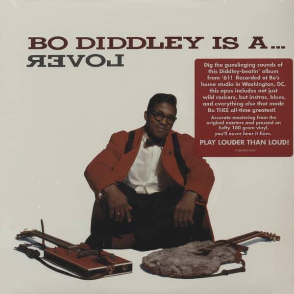 Bo Diddley Is A... Lover - 180 Gram Vinyl - Mono Edition