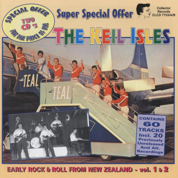 Early Rock & Roll From New Zealand 2-CD
