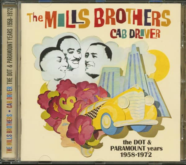 Cab Driver - The Dot & Paramount Years 1958-1972 (CD)