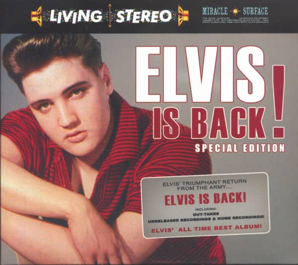 Elvis Is Back! Special Edition (2-CD)