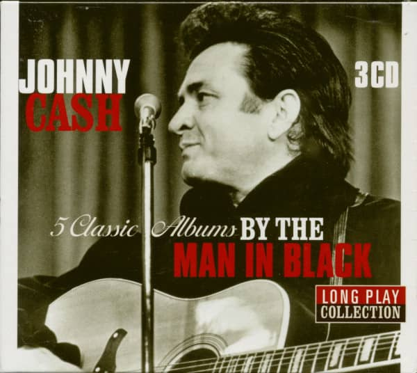 5 Classics Albums By The Man In Black - Long Play Collection (3-CD)