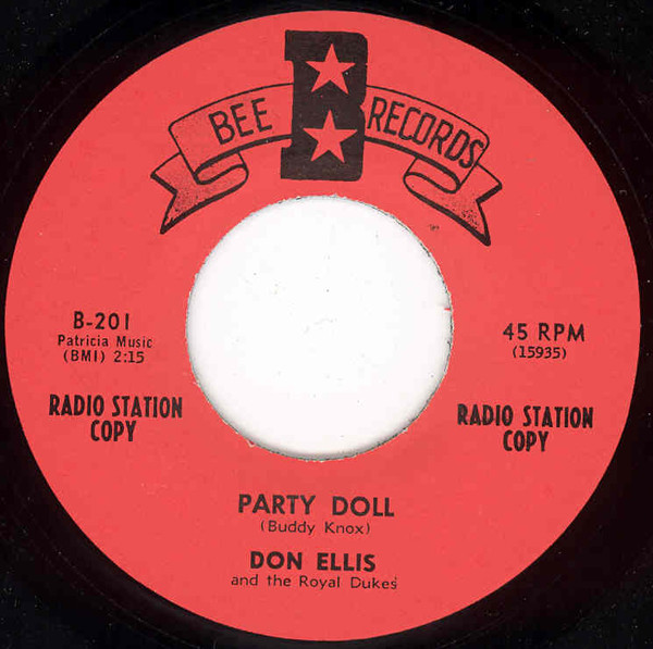 Party Doll b-w A Woman's Love 7inch, 45rpm
