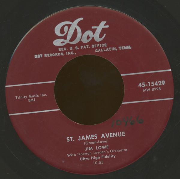 St. James Avenue - John Jacob Jingleheimer Smith (7inch, 45rpm)