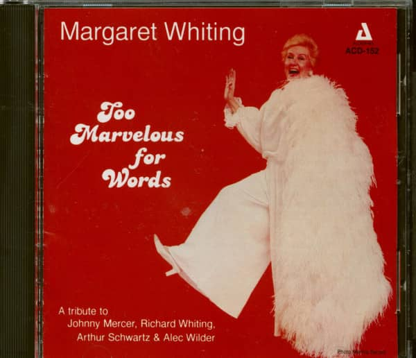 Too Marvelous for Words (CD)