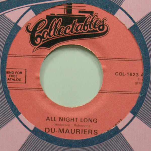 All Night Long b-w Baby I Love Me 7inch, 45rpm