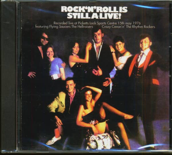 Rock'n'Roll Is Still A-Live! (CD)