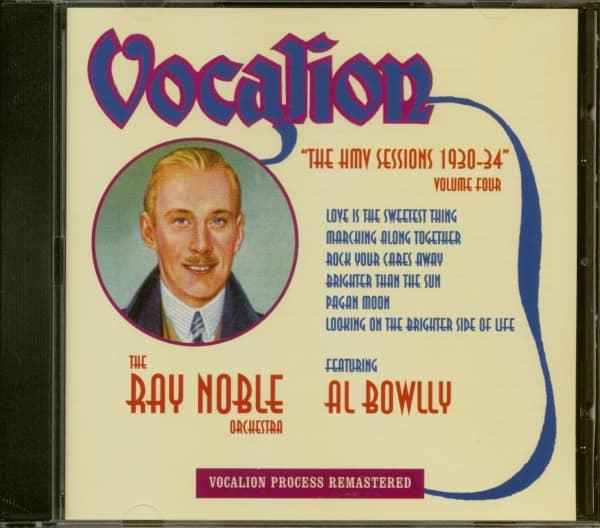 The HMV Sessions 1930-34 Volume Four (CD)