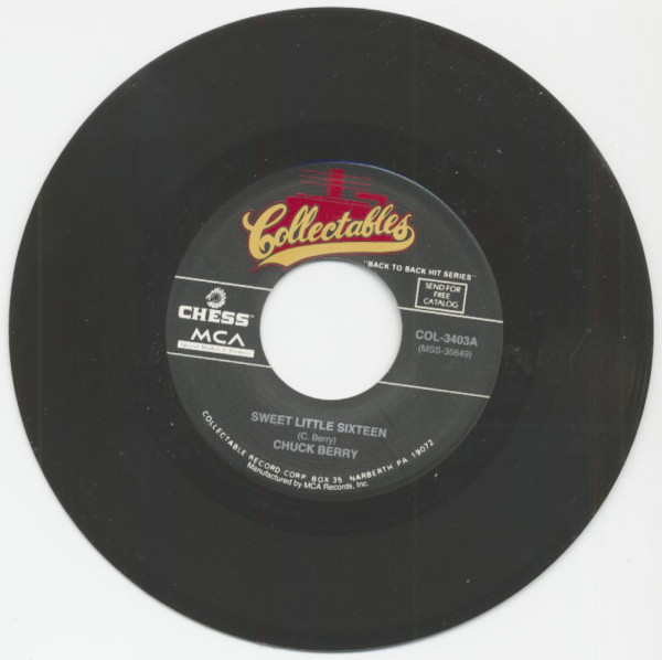Sweet Little Sixteen - Promised Land (7inch, 45rpm)
