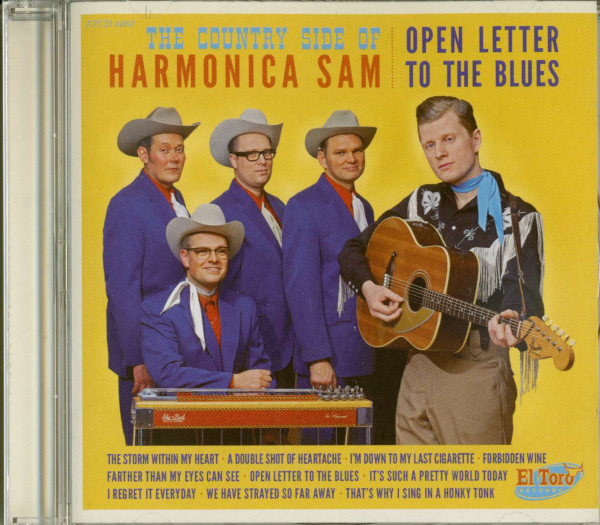 The Country Side Of Harmonica Sam - Open Letter To The Blues (CD)