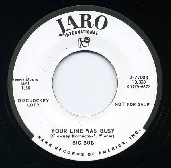 Your Line Was Busy - What Am I 7inch, 45rpm