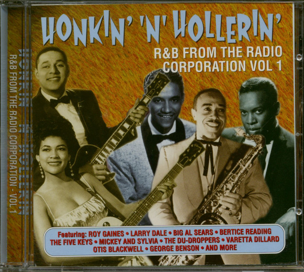 Honkin' And Hollerin' - R&B From The Radio Cororation Vol.1 (CD)