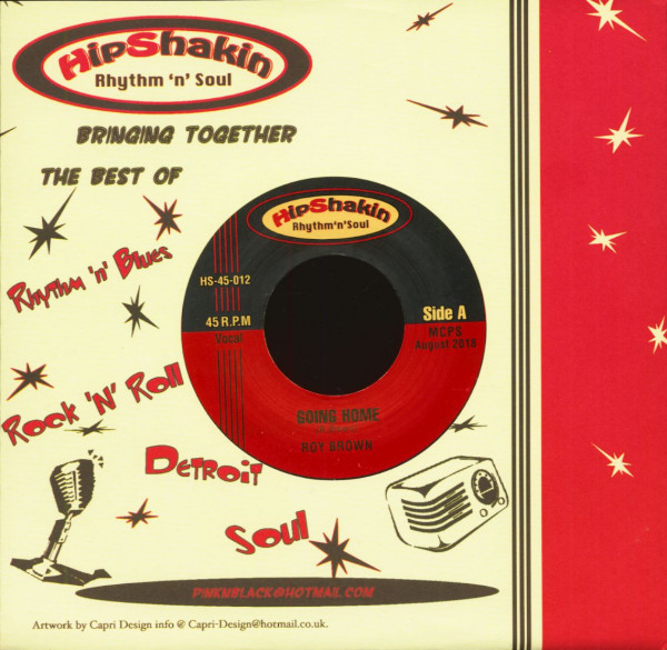 Roy Brown - Big Joe Turner (7inch, 45rpm, CS)
