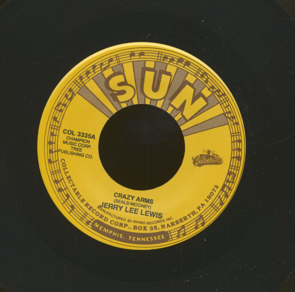 Crazy Arms - Good Golly Miss Molly (7inch, 45rpm)