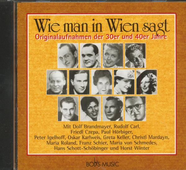 Wie man in Wien sagt (CD)