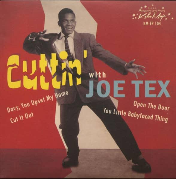 Cuttin' With Joe Tex (7inch, EP, 45rpm, PS)