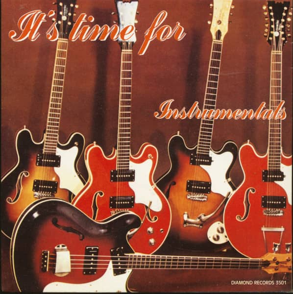 It's Time For Hot Instrumentals (7inch, EP, 45rpm, PS)