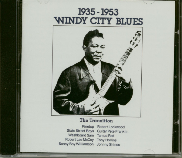 Windy City Blues (CD)