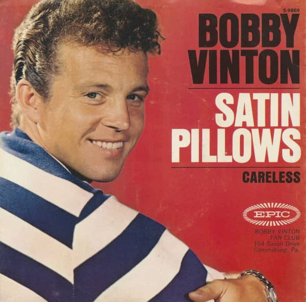 Satin Pillows - Careless (7inch, 45rpm, PS)