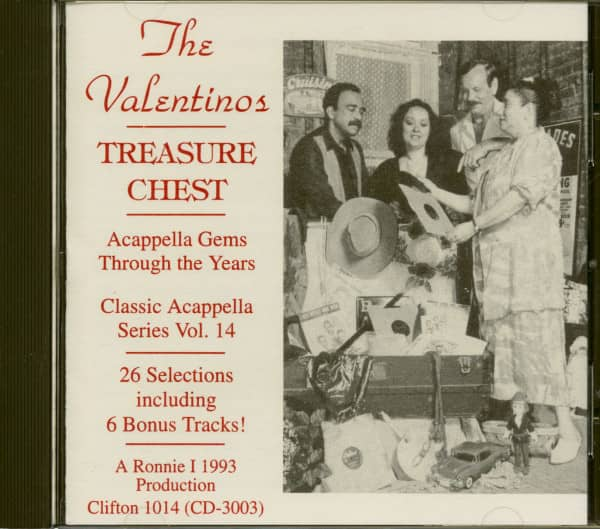 Treasure Chest - Acappella Gems Through The Years (CD)