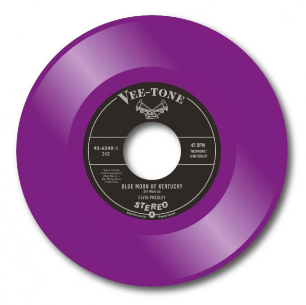 My Baby Left Me - Blue Moon Of Kentucky (7inch, 45rpm, Purple Vinyl, Ltd.)