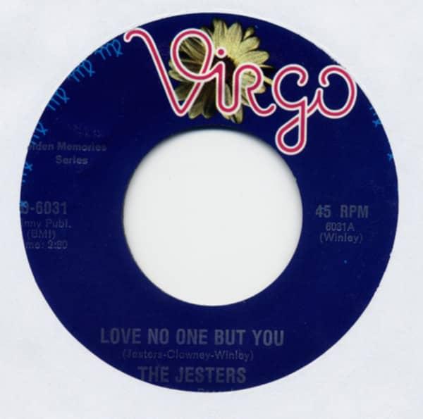 Love No One But You b-w So Strange 7inch, 45rpm