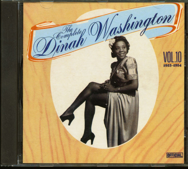 The Complete Dinah Washington Vol.10 (CD)