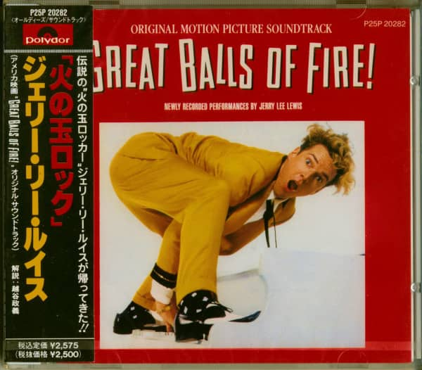Great Balls Of Fire (CD Album Soundtrack, Japan Edition)