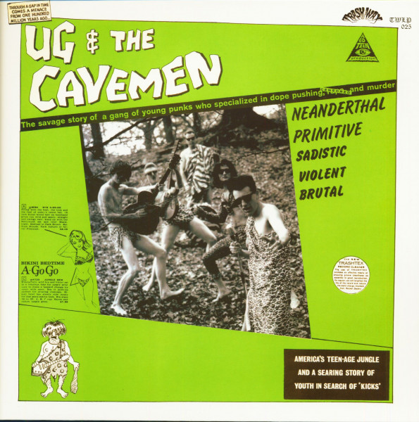 Ug & The Cavemen (LP, Color Vinyl & DVD)