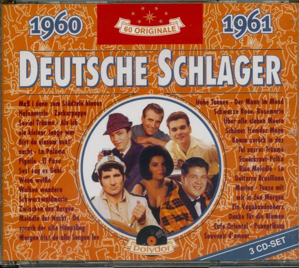 Deutsche Schlager 1960-1961 3-CD