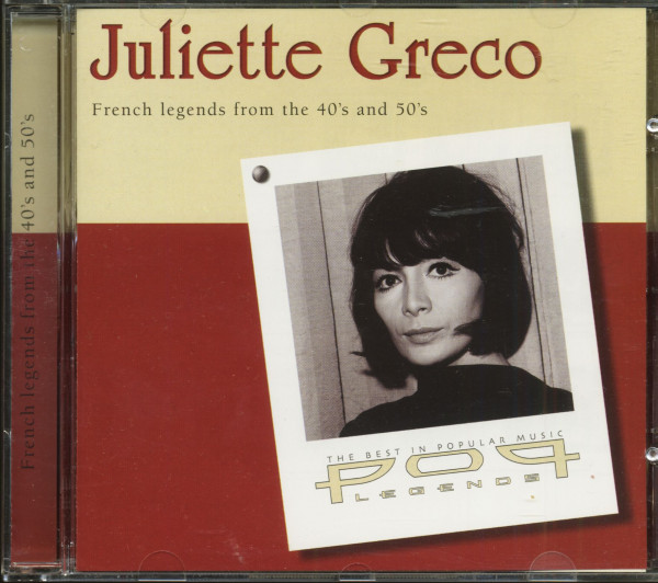 Juliette Greco - French Legends From the 40's And 50's (CD)