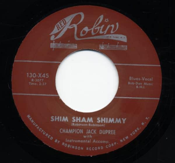 Shim Sham Shimmy b-w Drunk Again 7inch, 45rpm