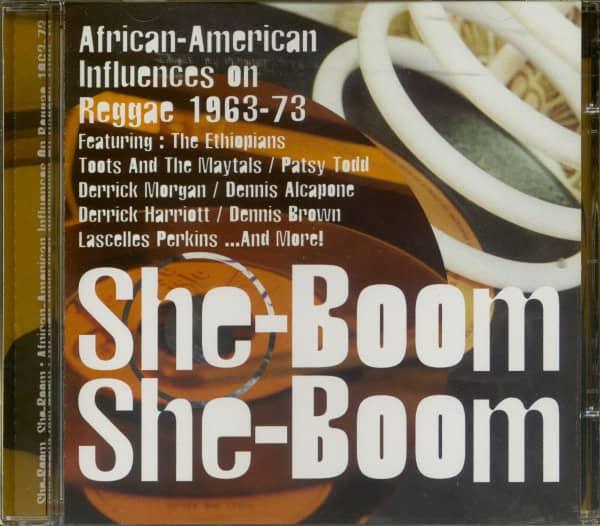 She-Boom, She-Boom - African-American Influences On Reggae 1963-73 (CD)