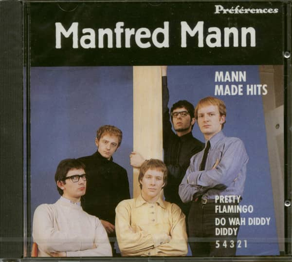 Mann Made Hits (CD)