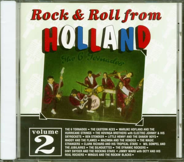 Rock & Roll From Holland Vol.2 (CD)