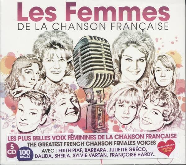 Les Femmes De La Chanson Francaise (5-CD)