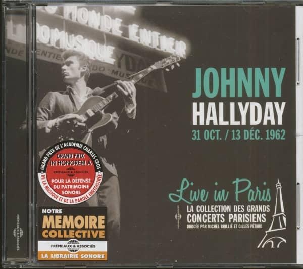 Live In Paris 31 October-13 December 1962 (CD)