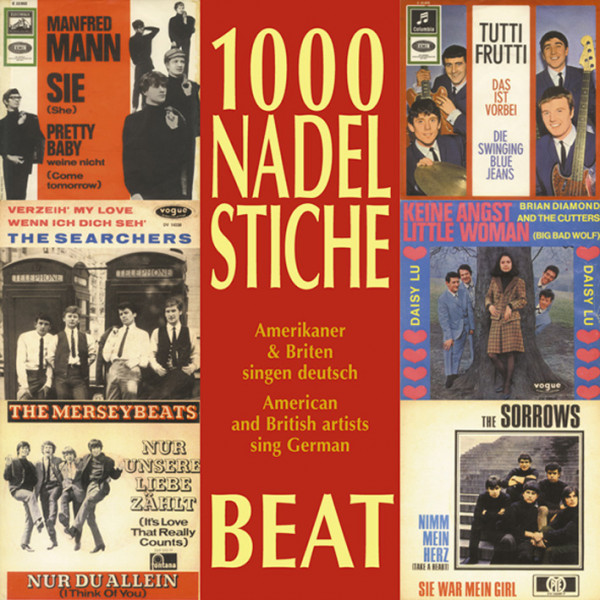 Vol.06, Beat - Amerikaner & Briten singen deutsch (CD)