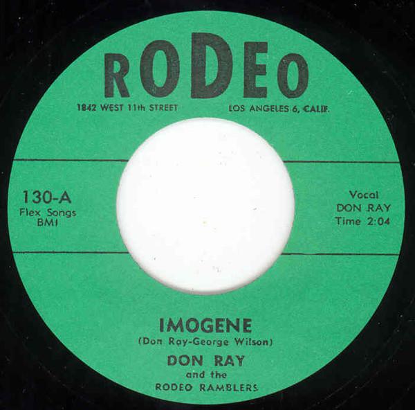 Imogene - Don't Cha Baby My Baby