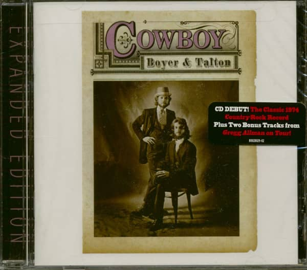 Boyer & Talton (CD, Expanded Edition)