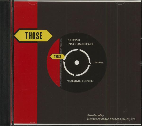 Those British Instrumentals Vol.11 (CD)