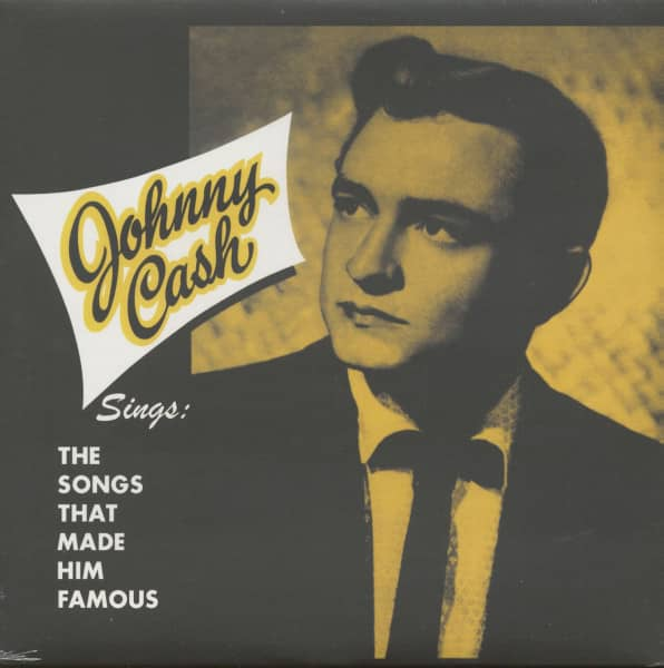 Johnny Cash Sings The Songs That Made Him Famous (LP, 140g Vinyl)