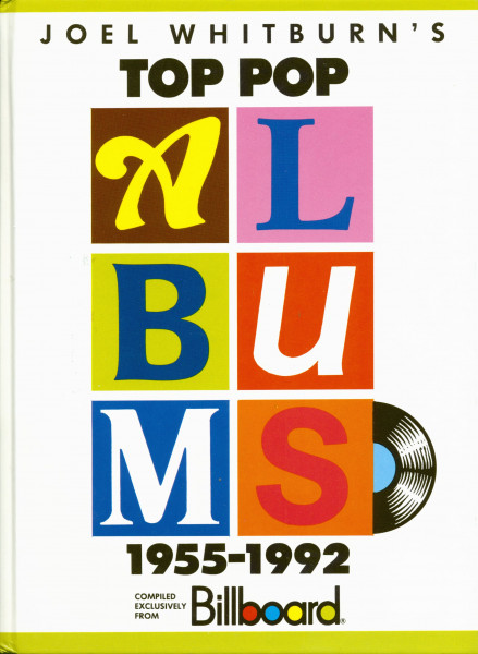 Joel Whitburn's Top Pop Albums 1955-1992