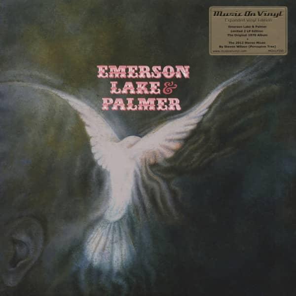 Emerson Lake & Palmer (1970) Deluxe 2-LP