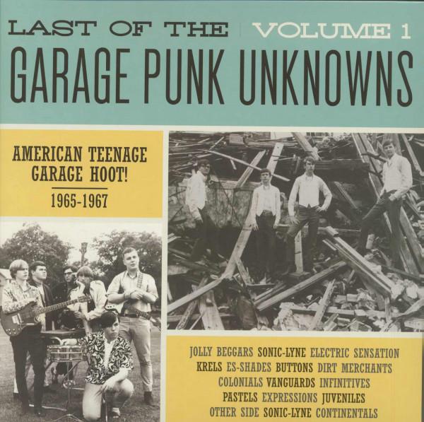 Last Of The Garage Punk Unknowns, Vol.1 (LP)