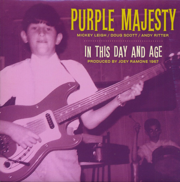 In This Day And Age - I Can't Keep From Crying (7inch, 45rpm, PS, Purple Vinyl)