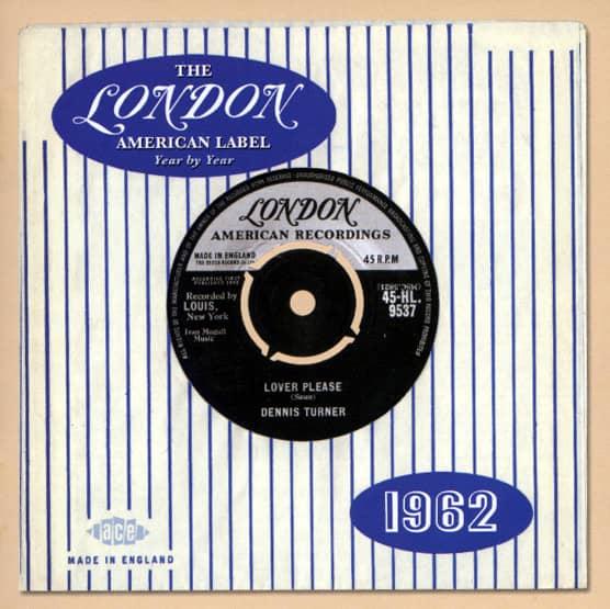 London American Label - 1962
