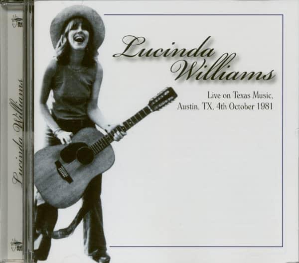 Live On Texas Music, Austin, TX, 4th October 1981 (CD)